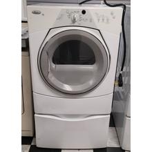 See Details - White w/ Gray Accents Duet Sport® Electric Dryer