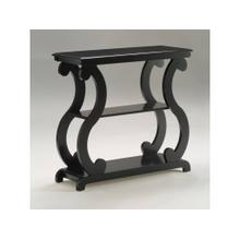 View Product - Lucy Console Table Black