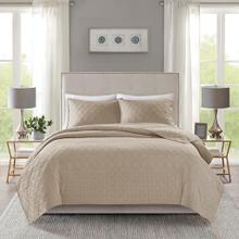 Linnette 3 PIece Reversible Coverlet Set