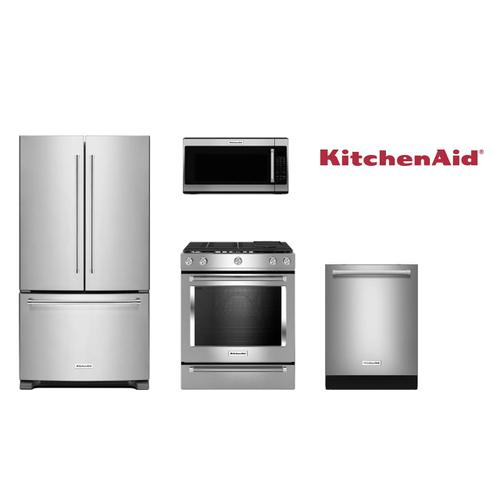 Kitchen Aid High End Gas Package