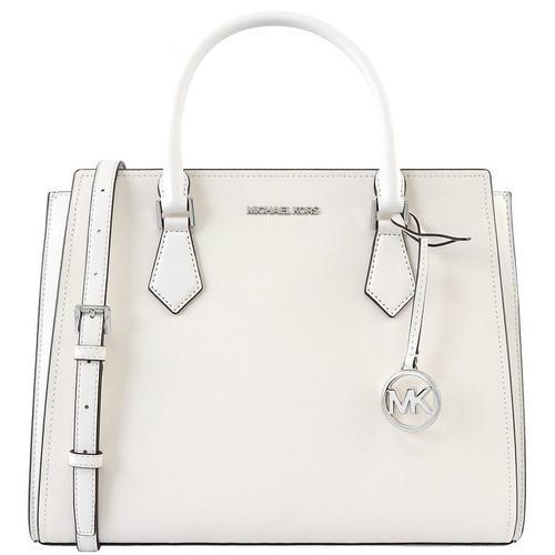 MICHAEL KORS Plain Leather Crossbody Handbags - White