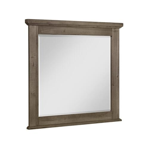 Artisan & Post Solid Wood - Cool Rustic Stone Solid Maple Mirror