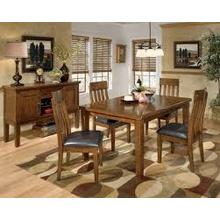 Table with Butterfly Leaf and 4 Chairs
