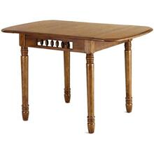 Honey Spindle Leg Table
