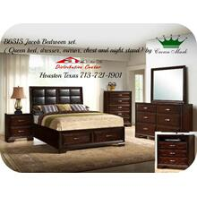 Crown Mark Furniture B6515 Jacob Storage Bedroom set Houston Texas USA Aztec Furniture