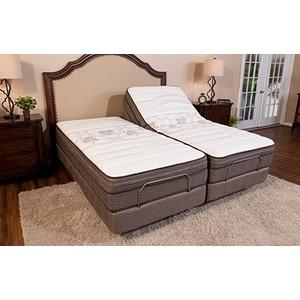 Ergomotion - SPLIT KING ergomotion QUEST 2.0 - WIRELESS - 2 TWXL Adjustable beds each person has their own remote.