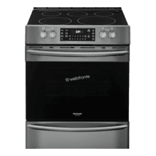 See Details - Frigidaire Gallery 30'' Front Control Electric Range with Air Fry