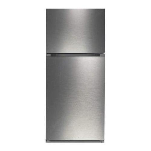 Top Mount Refrigerator - Stainless Steel - Look