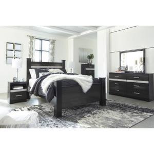 Gallery - Starberry Black Queen Poster Bedroom Set