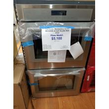 """See Details - Thermador Masterpiece Series 30"""" Double Wall Electric Oven ME302WS (FLOOR MODEL)"""