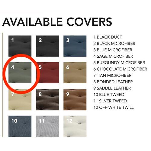 Gold Bond Mattress Company - ComfortCoil Innerspring Futon Mattress - 0708H0-0130 Sage