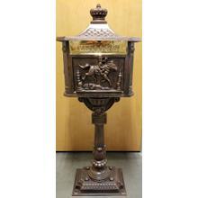 Victorian Mailbox Bronze
