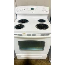 """See Details - USED- GE® 30"""" Free-Standing Electric Range- E30WHCOIL-U SERIAL #65"""