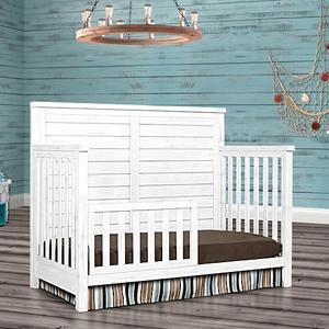 Evolur - Belmar 5-in-1 Convertible Crib (Flat Top)