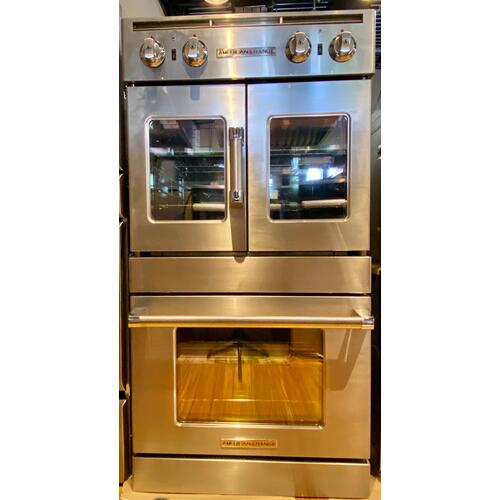 "American Range AROFSG230  30"" Legacy French & Chef Door Double Deck Wall Oven"