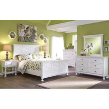 ASHLEY B502-21-26-87-74-86 Kaslyn 3-Piece Bedroom Group - Full Bed, Dresser & Mirror