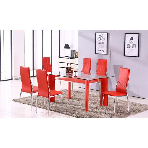 Gallery - Star- Table/ 6 Chairs
