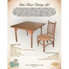 John Muir Dining Set