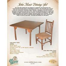See Details - John Muir Dining Set