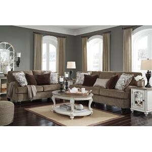 Braemar- Brown Sofa and Loveseat