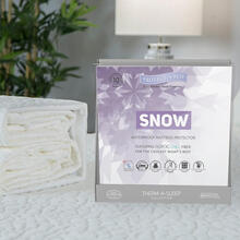 See Details - Cooling Mattress Pad Therm-A-Sleep Snow Protector