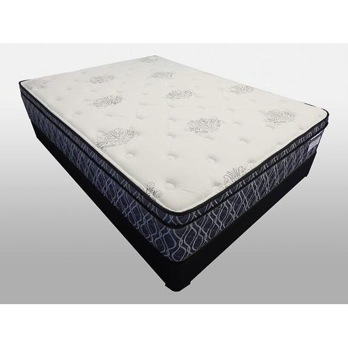 Samira Euro Pillow Top - Full Size Mattress Set