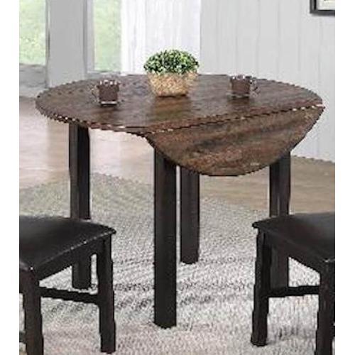 E.C.I. - E.C.I. 1859 Ashford 42 round drop leaf table with 2 Side Chairs