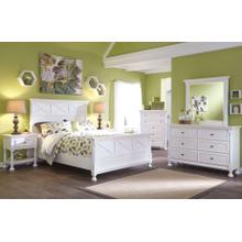 Kaslyn - Queen Panel Bed, Dresser, Mirror, & 1 x Nightstand