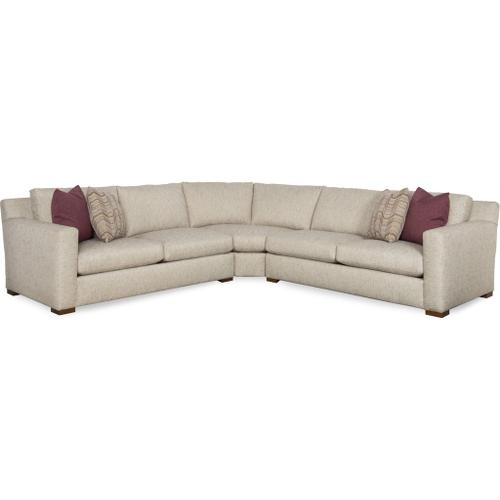 Sam Moore Furniture -  Living Room Sage Sectional Set