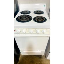 Product Image - USED- WHITE 20 IN. COIL ELECTRIC RANGE-  E20WHCOIL-U SERIAL #16