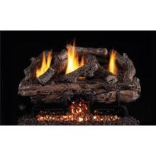 See Details - Charred Aged Split Oak Vent Free Logs