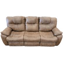 View Product - Reclining Fabric Sofa- Empire Mocha