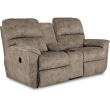 See Details - Brooks Reclining Loveseat with Console