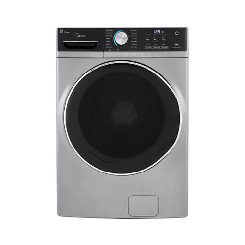 5.2 Cu. Ft. Capacity Front Load Washer Graphite Silver