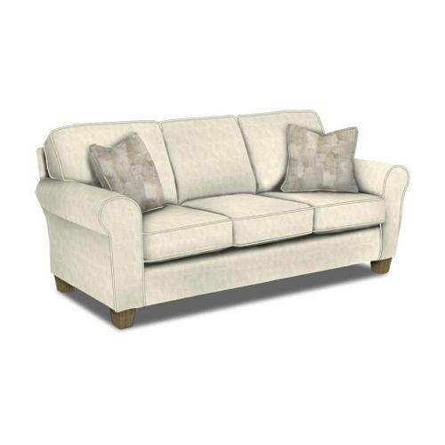 Annabel Harbor Classics Stationary Sofa in Tusk Fabric