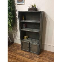 Bookcase Rustic Grey