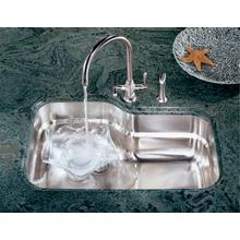 "Orca Series 31"" Undermount Single Bowl Stainless Steel Sink"