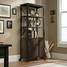 Steel River Bookcase with Doors