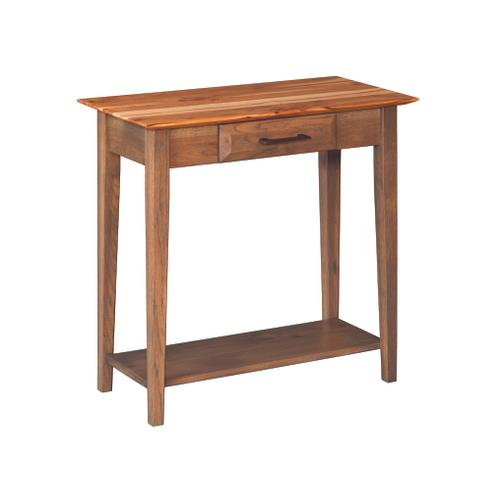 Country Value Woodworks - Simplicity Console Table With Drawer