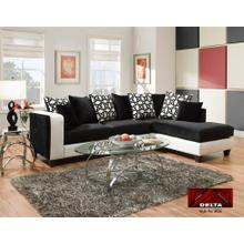 Delta Furniture 4124 Sectional Available at Aztec Furniture Houston Texas