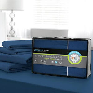 HYPER-COTTON QUICK DRY PERFORMANCE SHEETS Blue