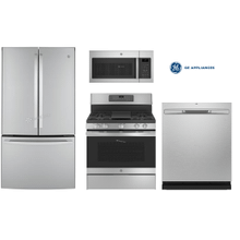 GE Package with counter depth Refrigerator