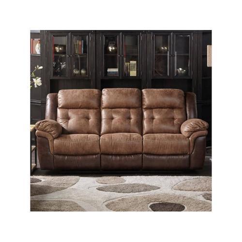 Cheers - Cheers Two Tone Dual Reclining Sofa