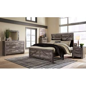 Wynnlow Qn Panel Bed, Dresser, Mirror and Nightstand