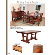 Albany Trestle Table