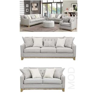 Jaizel Sofa and Loveseat Set