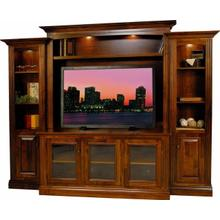 Amish Made Custom Wall Unit
