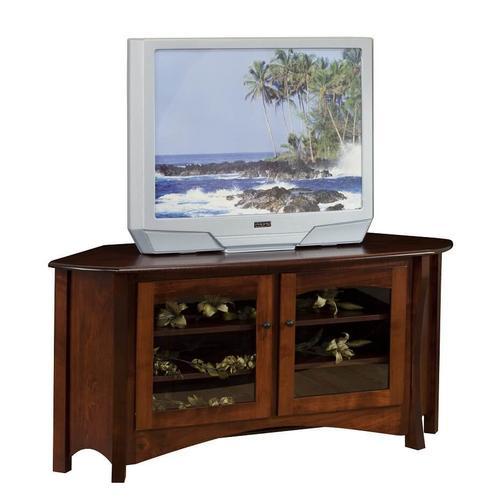 Large Master Style Corner TV Cabinet