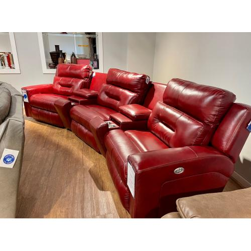 Southern Motion - Alfresco Marsal Full Power Leather Reclining Theatre Seating