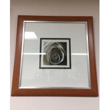 Framed Wall Art - B&W Rose